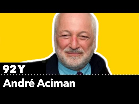 André Aciman on how migration and language shapes his characters
