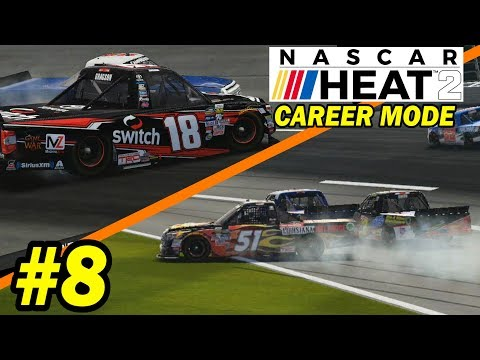BURNING BRIDGES  [NASCAR Heat 2 Career Mode -- Trucks 4 & 5/23]