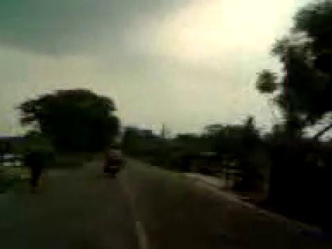 Krishnagar to Jalangi HW 11 | Travel Nadia & Murshidabad | by car | 2016 | at sunset time |