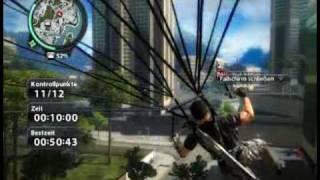 Just Cause 2 - Burj Panau Basejump & Parachute Challenge