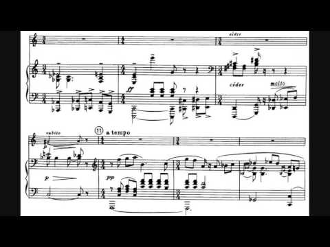 Francis Poulenc - Sonata for Oboe and Piano