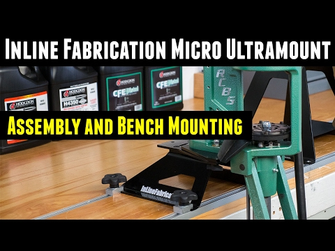 """Inline Fabrication 4"""" Micro Mount assembly and RCBS Pro Chucker 7"""