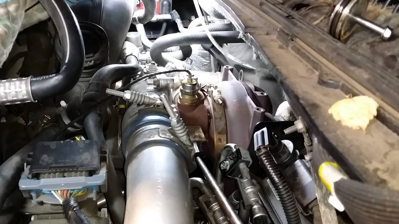 Duramax LBZ Turbo VGT clean with Easy Off YouTube – Lly Duramax Engine Sensor Diagram
