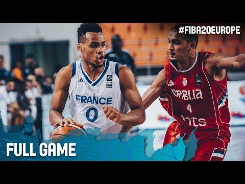 France v Serbia - Full Game - Quarter-Finals - FIBA U20 European Championship 2017