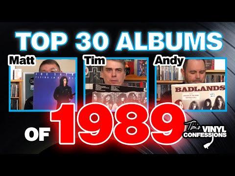 Ep. 237: Top 30 Albums of 1989 | Tim's Vinyl Confessions