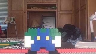 how to make a lego luigi