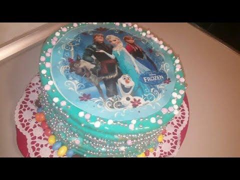 fd05fb3b4 تزين كيك تورتة عيد ميلاد للأطفال /فكرة جديدة مذهلة - YouTube