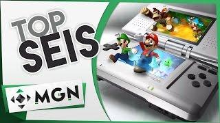 Top 6 Mejores juegos del Nintendo DS