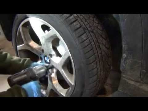 Bmw Front Pads Rotors And Sensor Brake Diy X5 E70 Youtube