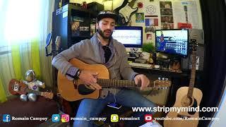 Cours de guitare - Sublime et silence - Julien Doré (Tuto facile)