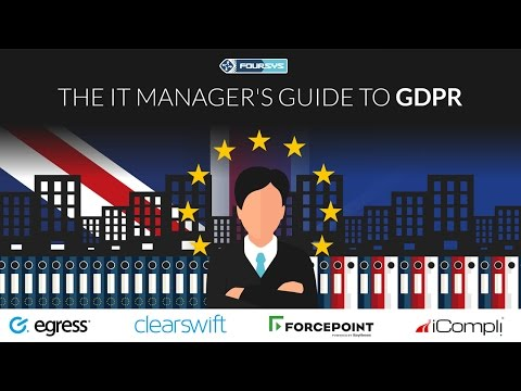 EU GDPR Webinar: The IT Manager's guide to GDPR - Getting yo