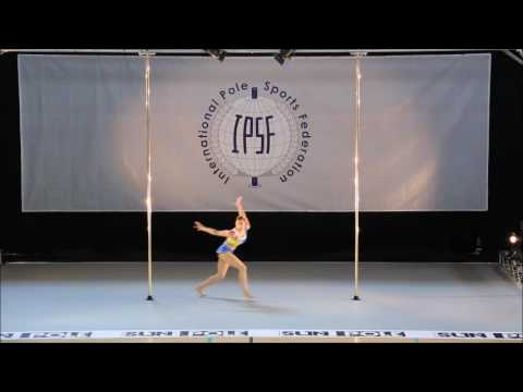 ALESSANDRA RANCAN TRUE - SENIOR WOMEN - PRELIM - WORLD POLE SPORTS CHAMPIONSHIPS 2016