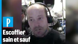 Vendée Globe: «C'est un truc de barjot», confie Kévin Escoffier après son sauvetage par Jean Le Cam