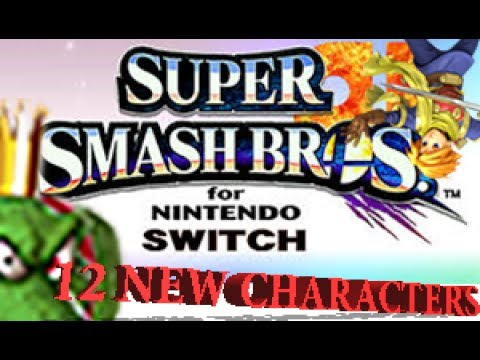 12 New Characters that Should be Added for SUPER SMASH BROS. 4 SWITCH