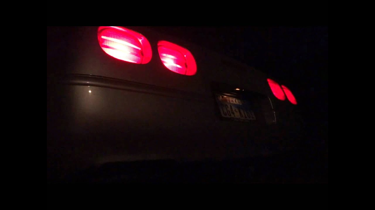 1996 Corvette LT4 Hot Cam Night Idle