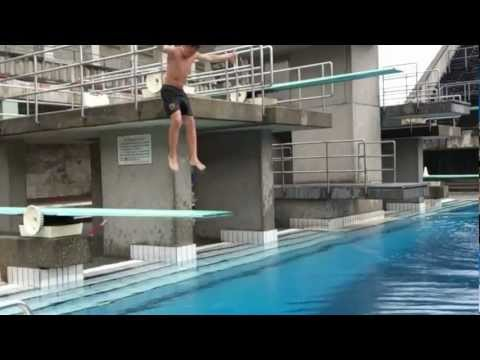 Turmspringen l Wasserspringen l Splashdiving l Dima & Kevin l Olympiastadion Berlin