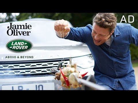 Cooking a Chicken with my Car | Jamie Oliver & Land Rover Part 3 | AD