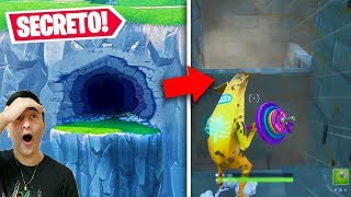 New! I found a SECRET place at the Fortnite before the live event...