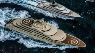 NEW 92m From FEADSHIP, 95m KISMET vs 156m DILBAR, Sunseeker 116 & much more