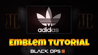 Video Black Ops 3 Emblem Tutorial (Adidas) download MP3, 3GP, MP4, WEBM, AVI, FLV Juni 2018