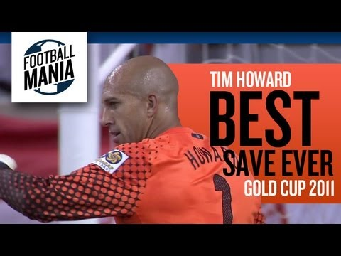 Tim Howard: Best Save Ever - 2011 GOLD CUP