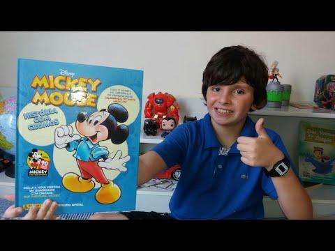 90 ans Mickey Panini Autocollant 54-DISNEY