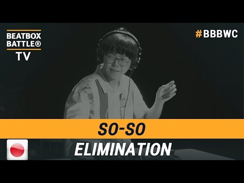 SoSo From Japan - Loop Station Elimination - 5th Beatbox Battle World Championship