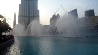 DUBAI Fountain with HINDI song