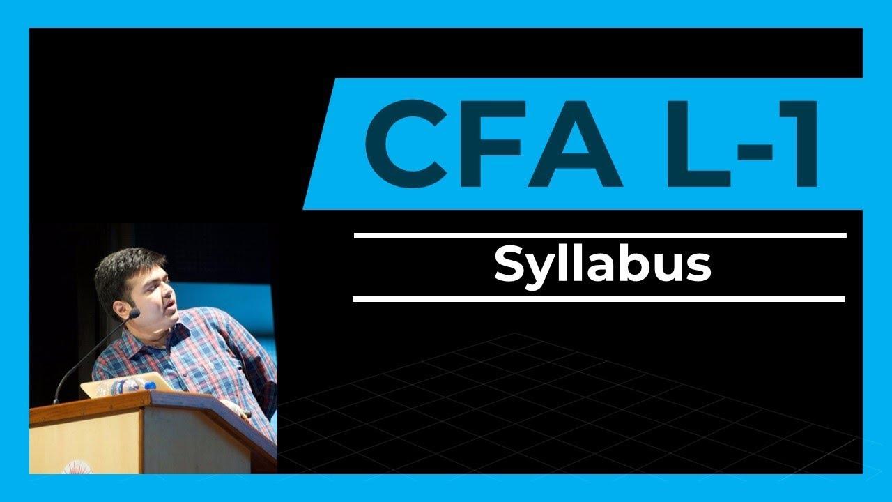 CFA Level 1