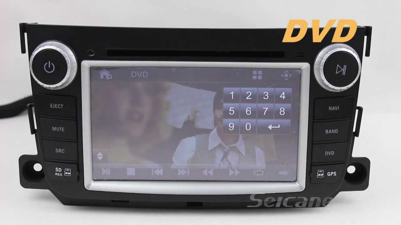 Mercedes benz smart fortwo radio upgrade dvd player gps for Mercedes benz navigation update