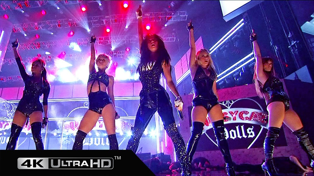 The Pussycat Dolls - Medley (American Music Awards 2008) 4K 60fps