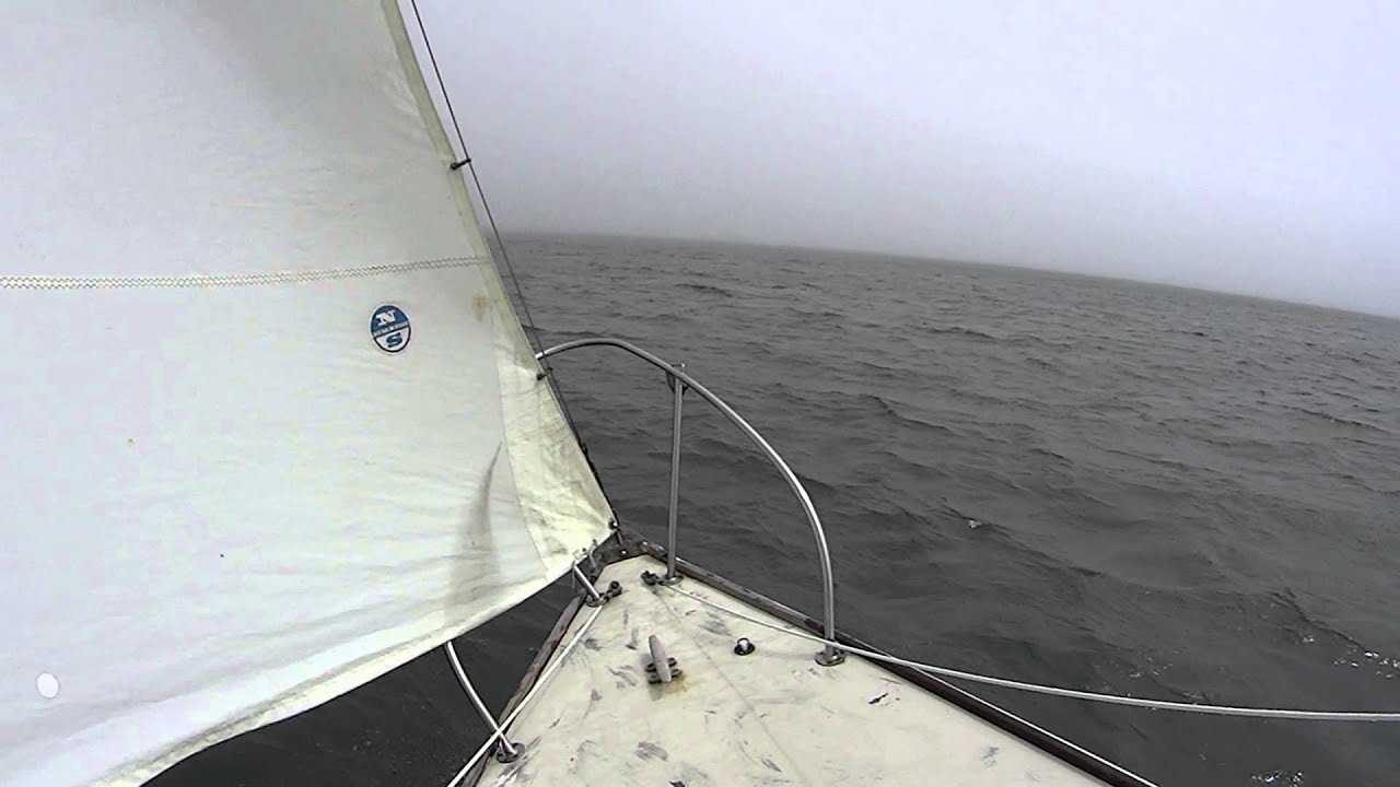 Sailing Off West Island In Fairhaven, MA