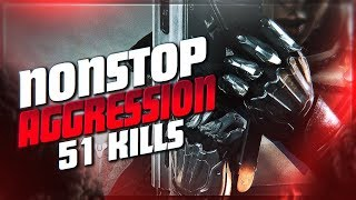 51 KILL GAME! NONSTOP SNIPER AGGRESSION (Destiny 2 PvP Full Match)