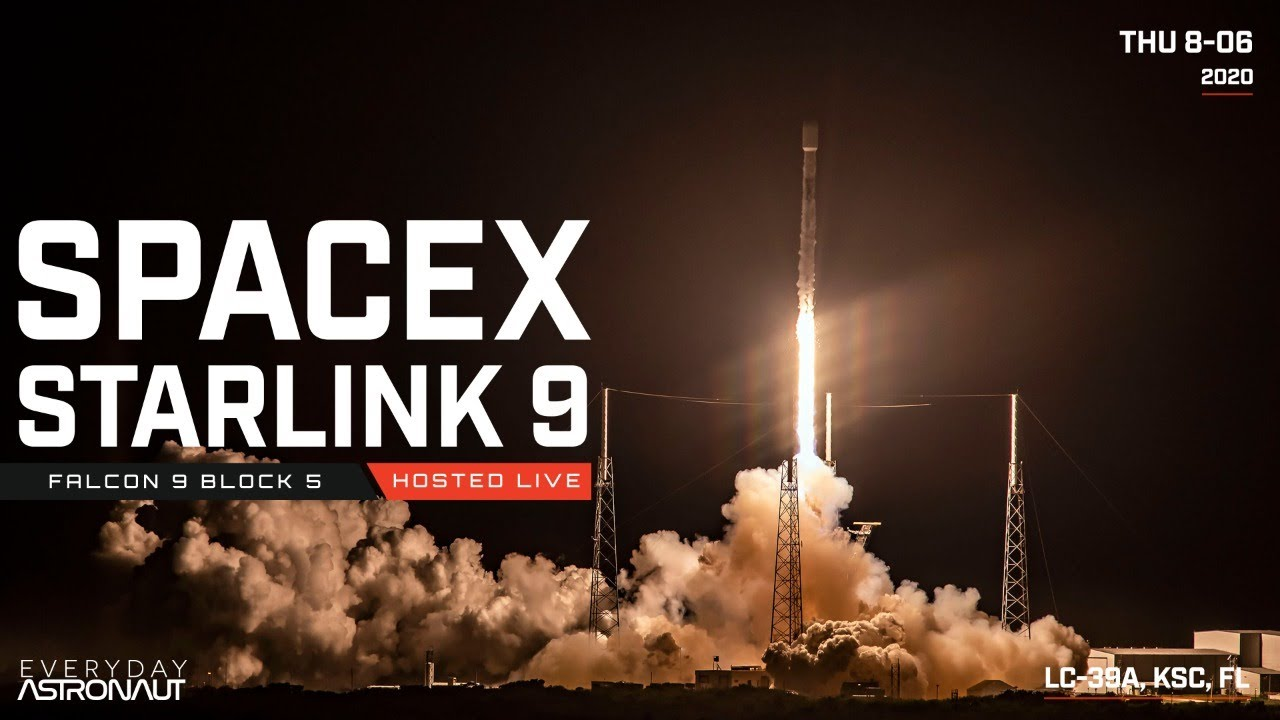 Watch SpaceX Launch 57 Starlink Satellites PLUS 2 other BlackSky Global satellites!