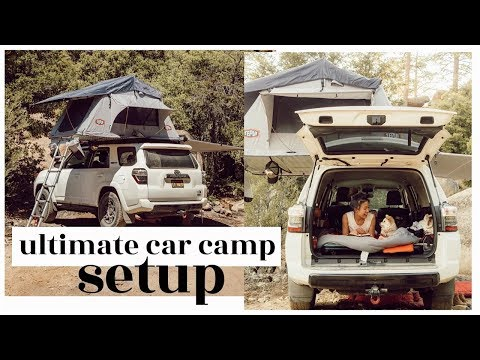 the ultimate car camp setup | WahlieTV EP698
