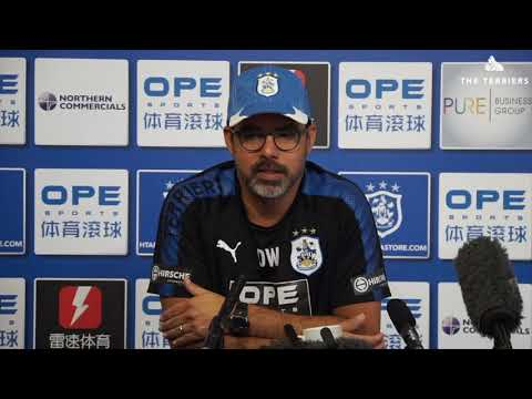 WATCH: David Wagner previews Manchester United