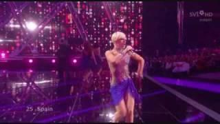 Soraya Arnelas -  La Noche Es Para Mi ( Spain  Eurovision 2009 )