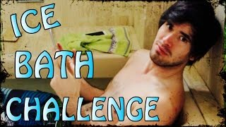 ME CONGELO EL TRASERO!! | Ice Bath Challenge - JuegaGerman