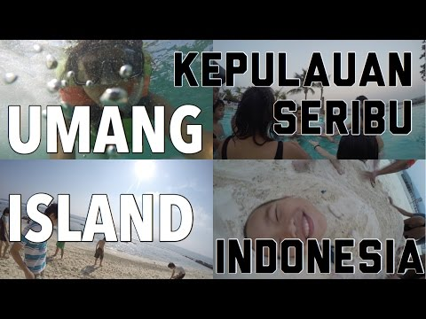 TRAVEL DIARY || UMANG ISLAND, BANTEN, INDONESIA ||