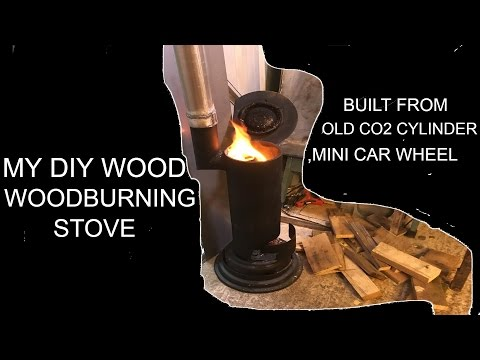 My Diy Wood Burning Stove For The Workshop