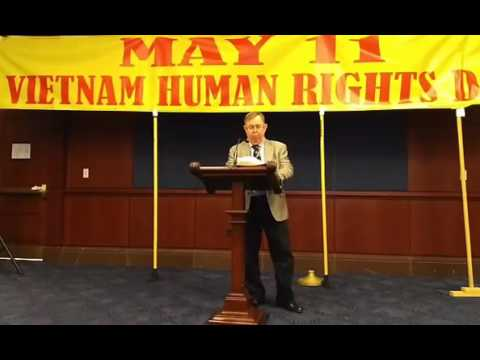 Charles Goolsby from Broadcasting Board of Governors at 2017 Vietnam Human Rights Day