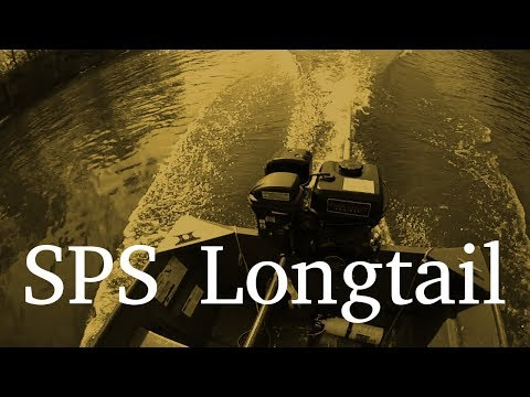SPS Longtail Review | Small Swamp Runner Mud Motor Kit | 212cc Harbor Freight Predator Engine