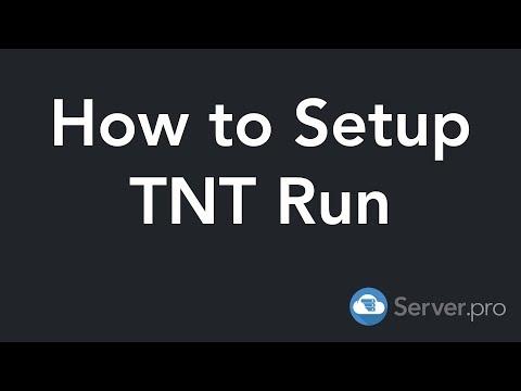 How To Setup TNT Run - Minecraft Java