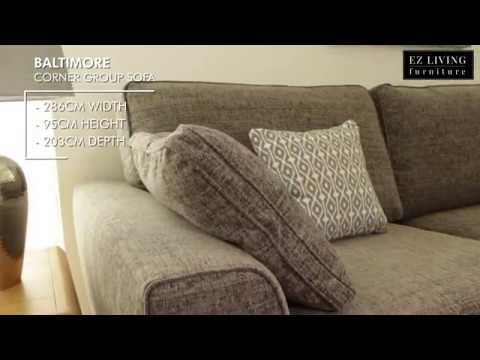 Baltimore Corner Group Sofa