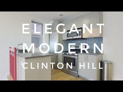 Modern & Elegant Duplex Apartment in Clinton Hill! Video Tour NYC Brooklyn NY