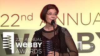 Mitchell Baker's 5-Word Speech at the 22nd Annual Webby Awards thumbnail