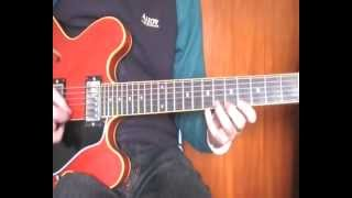 FREIGHT TRANE - KENNY BURRELL SOLO TRANSCRIPTION