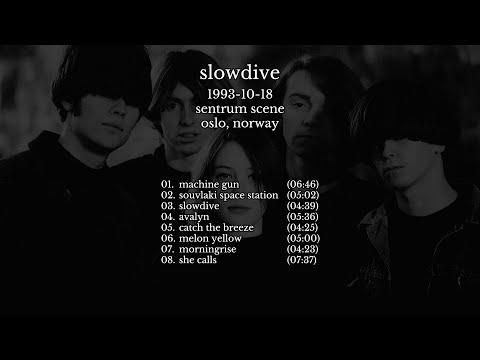 Slowdive - 1993-10-18 Oslo, Norway [live]