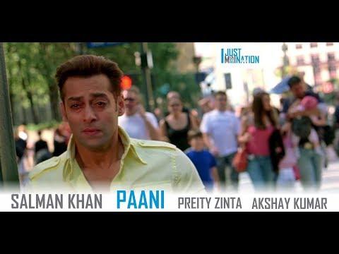 Paani | Salman Khan, Preity Zinta, Akshay Kumar | Just An Imagination #36