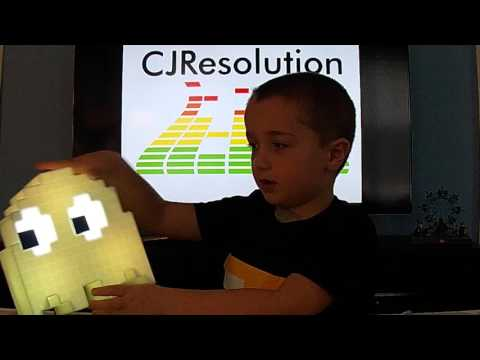 Pac-Man Ghost Light Toy Review - CJResolution